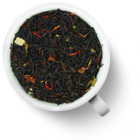 Чай Клубничный десерт черный ароматизированный