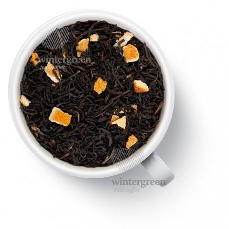 Чай Апельсин со сливками черный ароматизированный