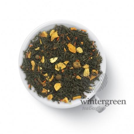 Чай Драгоценный черный ароматизированный