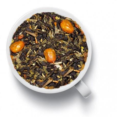Чай Доктор облепиха черный ароматизированный