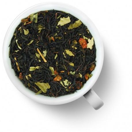 Чай Земляничный десерт черный ароматизированный