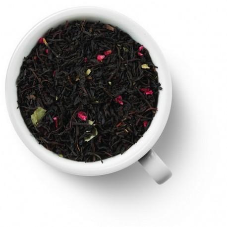 Чай Клубника-Малина  черный ароматизированный