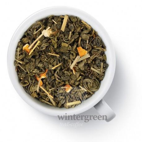 Чай Лимонник (Китайский лимонник на ганпаудере) зелёный ароматизированный