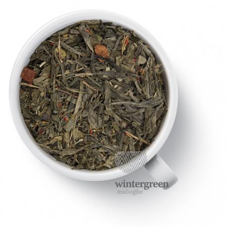 Чай Клубника (сенча) зелёный ароматизированный