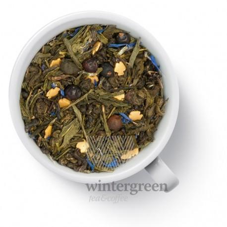 Чай Золотая рыбка зелёный ароматизированный
