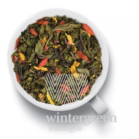Чай Годжи - Малина зелёный ароматизированный