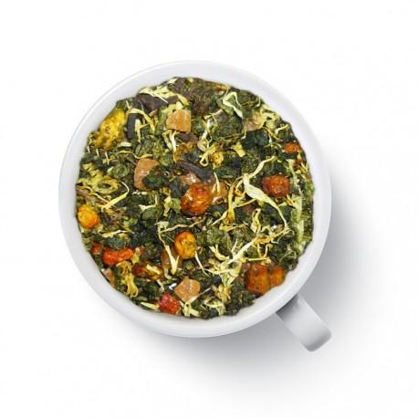 Чай Яркая Нотка (с облепихой) зелёный ароматизированный
