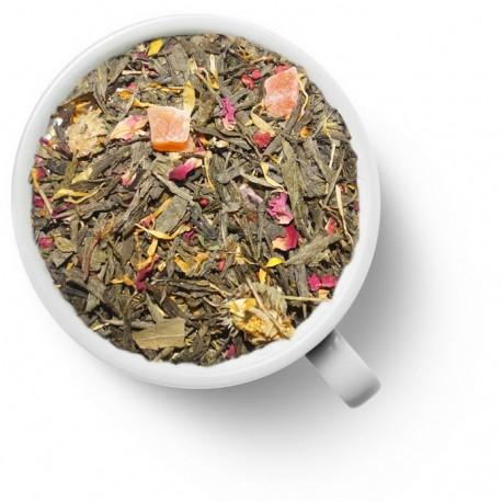Чай Золотая Фортуна зелёный ароматизированный