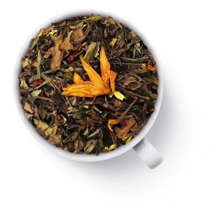 Чай Гранатовый зелёный ароматизированный
