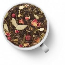 Чай Брусника зелёный ароматизированный