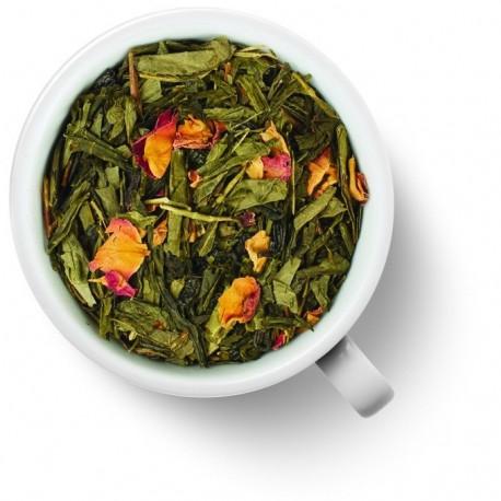 Чай Японская Вишня зелёный ароматизированный