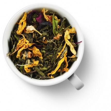 Чай Белая Жемчужина Фудзиямы зелёный ароматизированный