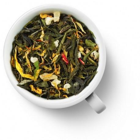 Чай Восемь Сокровищ Шаолиня зелёный ароматизированный