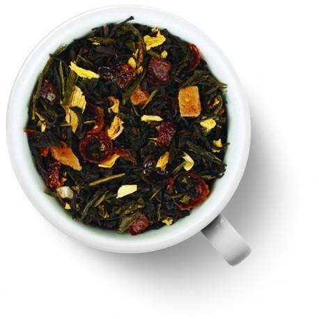 Чай Волшебная Луна зеленый с черным ароматизированный
