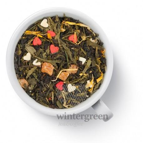 Чай Основной инстинкт зеленый с черным ароматизированный