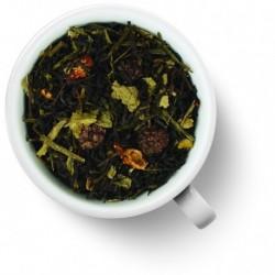 Чай Лесные ягоды зеленый с черным ароматизированный