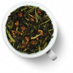 Чай Лунный замок зеленый с черным ароматизированный