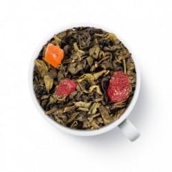 Чай Prospero Земляники со сливками (ганпаудер) зелёный ароматизированный