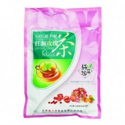 Чай Ба Бао Ча (Восемь сокровищ розовый) с розой. 12*20 гр. китайский элитный