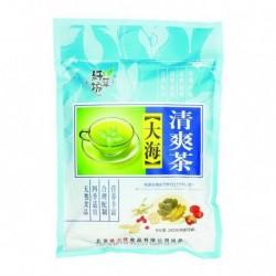 Чай Ба Бао Ча (Восемь сокровищ синий) с паньдаха. 12* 20 гр. китайский элитный