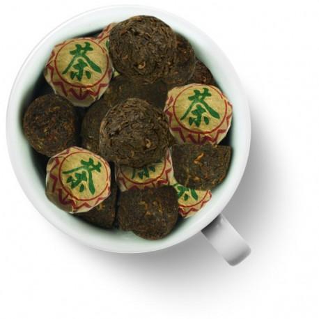 Чай китайский элитный шу пуэр прессованный Сяо То (мини- точа)