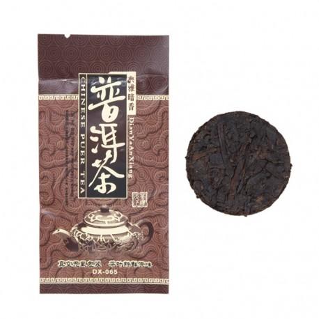 Чай китайский элитный шу пуэр многолетний таблетка 8гр. (упаковка 10шт.)