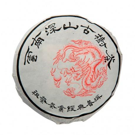 """Шен (зеленый) пуэр сбор 2012г. """"Сладкие листья из Йонг Дэ"""" 100гр."""