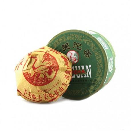 Чай Шен пуэр фабрика Сягуань сбор 2014г 100гр ( то ча)