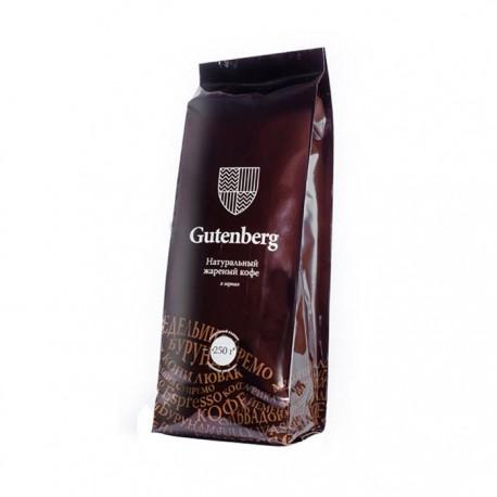 Кофе Имбирный мед в зернах Марагоджип ароматизированный