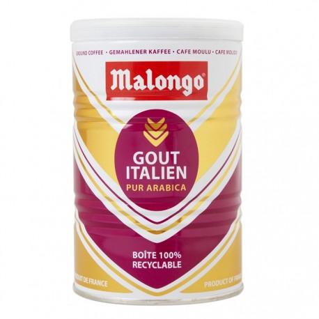 Итальянский вкус кофе Malongo молотый 250 гр.