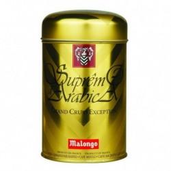 Супремо Арабика кофе Malongo молотый (золотая банка) 250 гр.