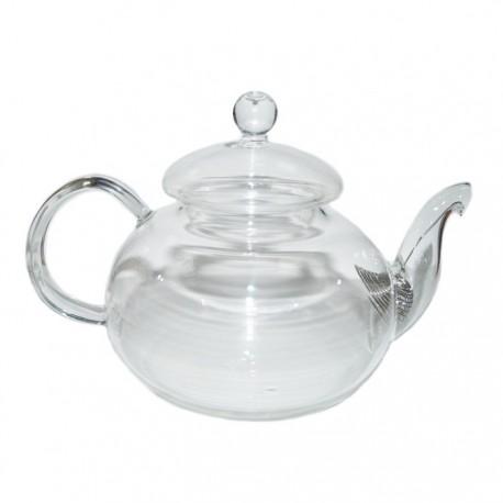 """Заварочный чайник из жаропрочного стекла """"Азалия"""" с пружинкой-фильтром в носике, 800 мл., дно d90 мм"""