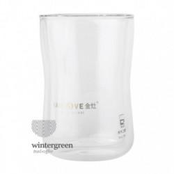 Необжигающая чашка из жаропрочного стекла,объем 250 мл.
