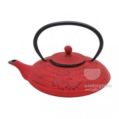 """Чугунный чайник """"Пекинская осень"""" ,объем 800 мл."""