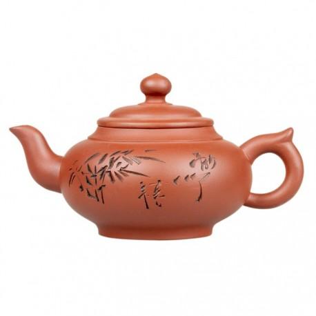 """Глиняный чайник """"Поющий лес"""", объем 350 мл."""