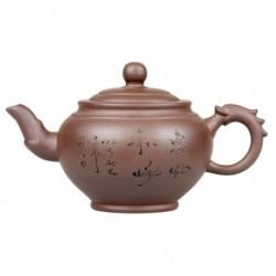 """Глиняный чайник """"Зеленый бамбук"""", объем 350 мл."""