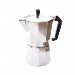 Гейзерная кофеварка на 6 чашек, алюминиевая