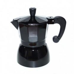 Гейзерная кофеварка на 3 чашки, цвет чёрный