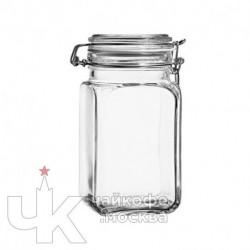 Банка 1300мл для сыпучих продуктов «Кремлин»  стекло  D-9.6,H-18см