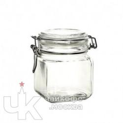 Банка 740мл для сыпучих продуктов «Кремлин»  стекло  D-9.6,H-10.8см